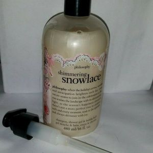 PHILOSOPHY Shimmering Snowlace Shampoo, Shower Gel